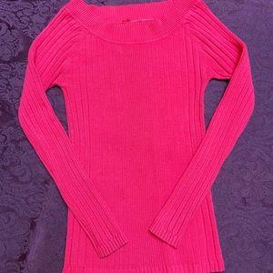 Vintage Hot Pink Sweater